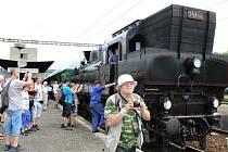 Historický vlak v Berouně