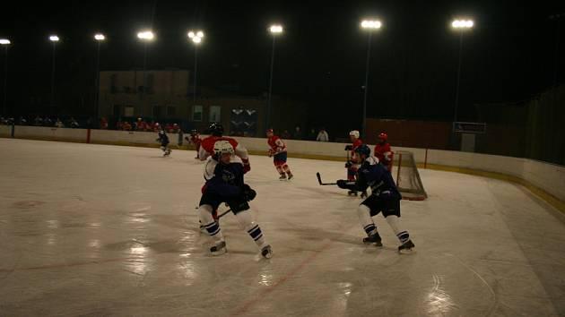 okresní hokej - ilustrační foto