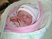 PRVNÍ miminko, dcera Emma, se narodila 14. ledna 2018 manželům Kotlářovým. Emmičku si rodiče odvezli domů do Nučic.