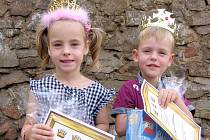 První místo v soutěži Princ a princezna Berounského deníku obsadili dvojčata Anežka a Vašík Jedličkovi