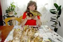 Houbařské úlovky Mileny Kusé