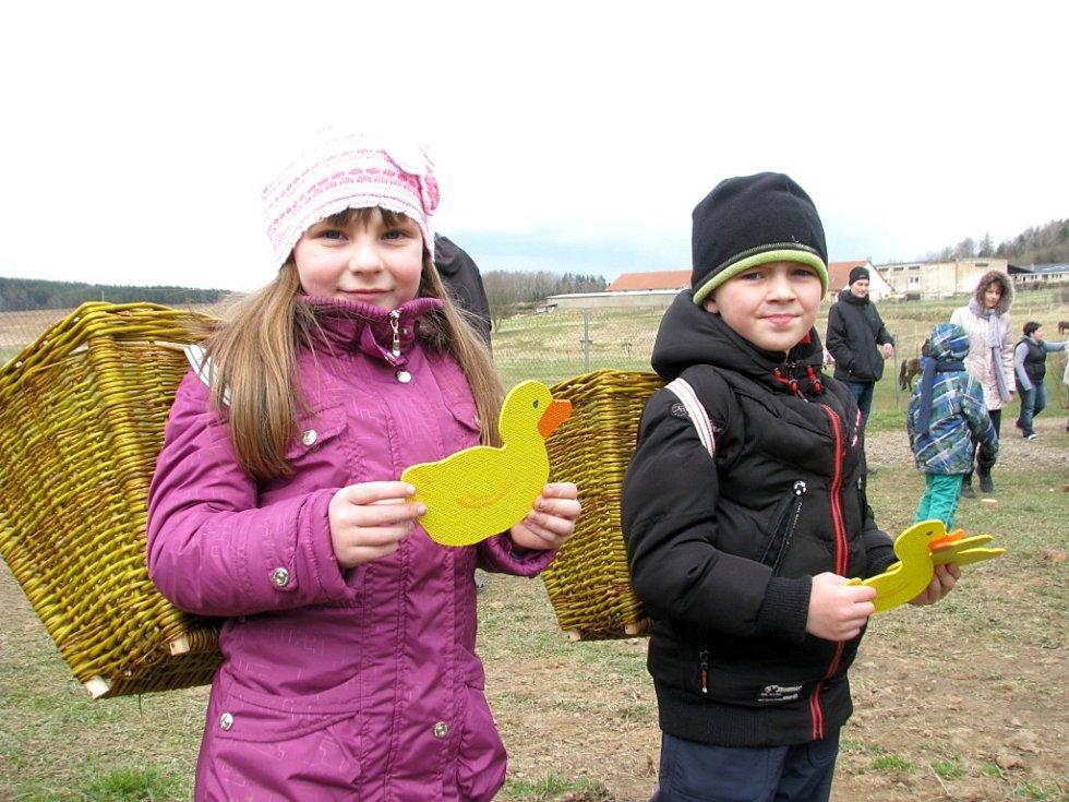 Velikonoce ve Zvířátkově v Olešné na Berounsku v roce 2015