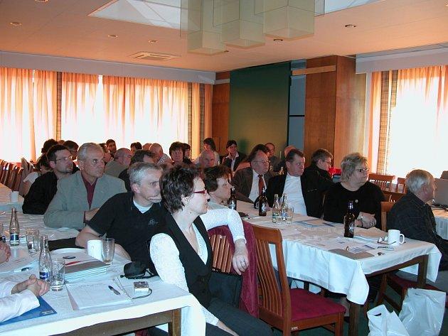 Zástupci obcí se seznámili s projekty vodohospodářů.