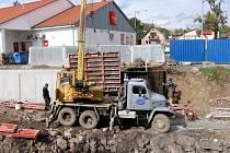 Stavba protipovodňových opatření v Hořovicích