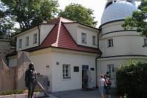 Štefánikova hvězdárna, kde Martin Fuchs