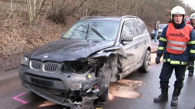 Dopravní nehodu provázely vzrušené emoce