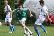 Králodvorští fotbalisté prohráli na půdě Vltavínu 1:2.