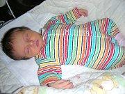 K DVOULETÉMU synovi Toníkovi, si manželé Lenka a Ondřej Plečkovi z Králova Dvora pořídili druhé děťátko, dcerku Veroniku. Verunka se narodila 20. října 2017, vážila 3,18 kg a měřila 50 cm.