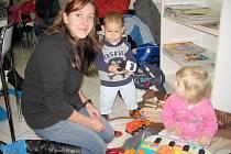 Hořovické maminky pohlídaly dárcům děti