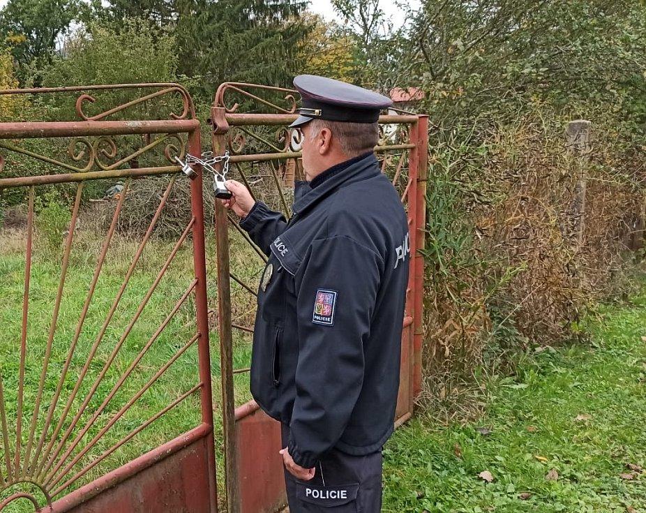 Na Jílovsku už se policisté v rámci preventivní činnosti zaměřili i na obhlídku toho, jak jsou rekreační objekty zajištěny.