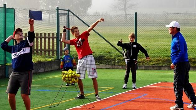 Tenis v Olešné