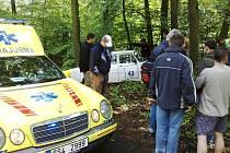 Rallye Hořovice se vyžádala několik havárií