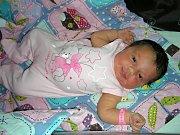 RODIČE Ilona Kleinpeterová a Karel Mačejko z Berouna, přivedli společně na svět 6. září 2017 své první miminko, dcerku Natalii. Natálka se mohla po narození pochlubit pěknou váhou 4,10 kg.