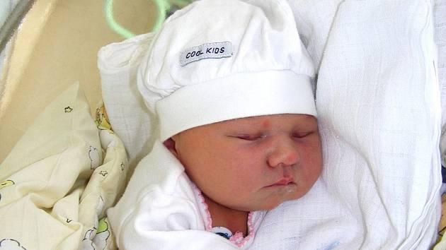 Velkou radost má jedenáctiletá Izabela ze Zbirohu, které se v pátek 25. února 20 minut po půlnoci narodila sestřička Elena. Elenka přišla na svět s váhou 3,50 kg a mírou 52 cm. Rodiče Květa Sojková a Jiří Lasák mají z dcerky velkou radost.