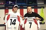 Karlštejnský celek představil nové hráče, jimiž jsou Filip Hosnéd a Martin Vávra.
