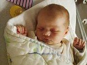 Adámek Fišer. První miminko se narodilo 31. prosince 2018 Denise a Jiřímu z Dobříše. Je to syn a dostal jméno Adam. Adámek Fišer vážil po příchodu na svět 3,63 kg a měřil 51 cm. Foto: Rodina