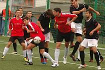 Berounští fotbalisté porazili Spartak Příbram 1:0.
