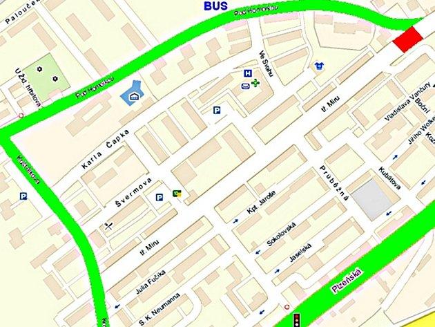 Od středy čeká v Berouně řidiče nová uzavírka. Kvůli uzavření Jungmannovy ulice bude doprava vedena ulicí Pod Homolkou.