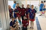Berounští plavci na závodech v Rakovníku. Foto: LoBe
