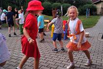Z rozloučení s předškoláky v Mateřské škole Pod Homolkou, na odloučeném pracovišti Vrchlického v Berouně.