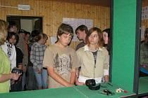 Školáci navštívili policejní oddělení v Berouně.