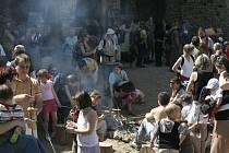 Mamutí dny na Hradě Točníku 2007