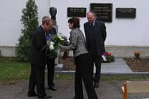 Pietní akt u hrobu Václava Talicha