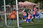 Fotbalová divize, skupina A: FC Rokycany - Český lev Union Beroun 4:1 (3:0).