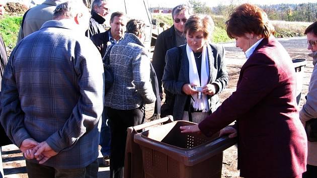 Nádoby na biologický odpad obdrží v Hořovicích každé číslo popisné