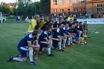 Vítězný pohár získali fotbalisté Komárova.