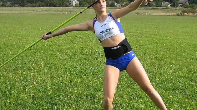 Česká reprezentantka Irena Šedivá