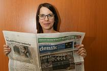 Michaela Škeříková, ambasadorka Berounského deníku.