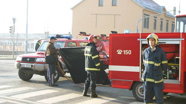 Dopravní nehoda v centru Berouna si vyžádala jeden lidský život.