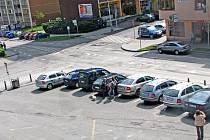 Za týden už nebudou na náměstí Marie Poštové v Berouně smět parkovat auta. Kvůli rekonstrukci  bude uzavřeno.