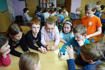 Z Večerníčkového odpoledne ve školní družině ZŠ Beroun - Závodí.