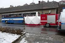 Na místě nehody zasahovali i berounští hasiči