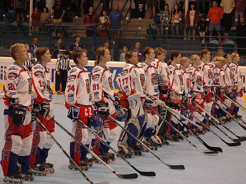 České reprezentantky porazily ve čtvrtfinále mistrovství světa celek Španělka 5:1