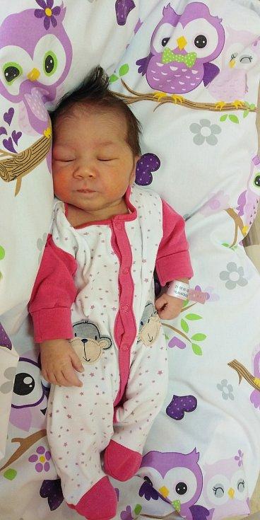 Martina Hlaváčková se narodila 10. května 2021 v 8. 47 hodin v čáslavské porodnici. Vážila 2950 gramů a měřila 49 centimetrů. Domů do Mostu si ji odvezli maminka Veronika, tatínek Martin a jedenáctiletá sestřička Mariela.