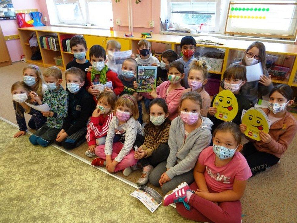 Týden čtení dětem ve školní družině ZŠ Beroun - Závodí.