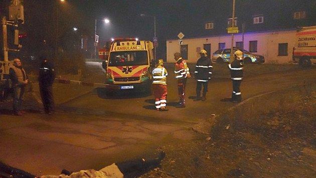 Záchranáři se v noci na Nový rok nezastavili