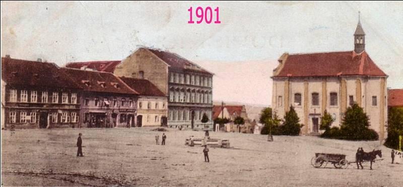 Palackého náměstí Hořovice.