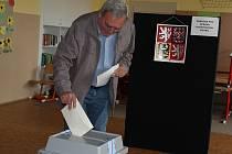 Druhé kolo senátních voleb.