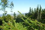 Rozhledna na Studeném vrchu nabízí nádherný výhled