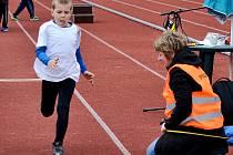Atletické závody v Berouně