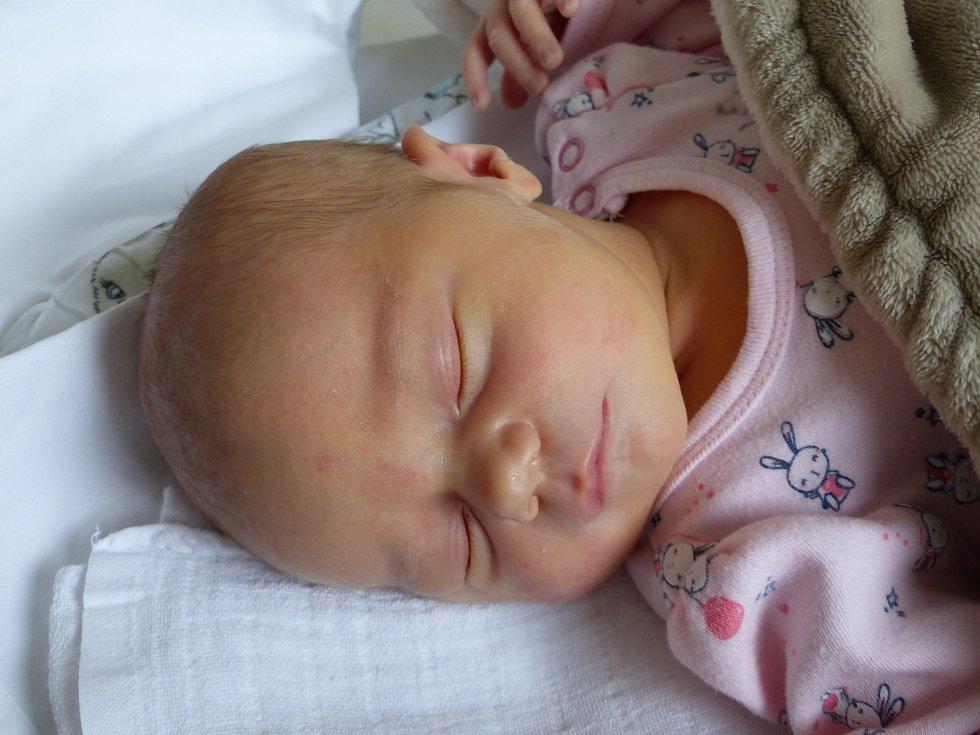 Adina Netíková se narodila 11. května 2021 v kolínské porodnici, vážila 3415 g a měřila 49 cm. Do Ohař odjela s maminkou Anetou a tatínkem Tomášem.