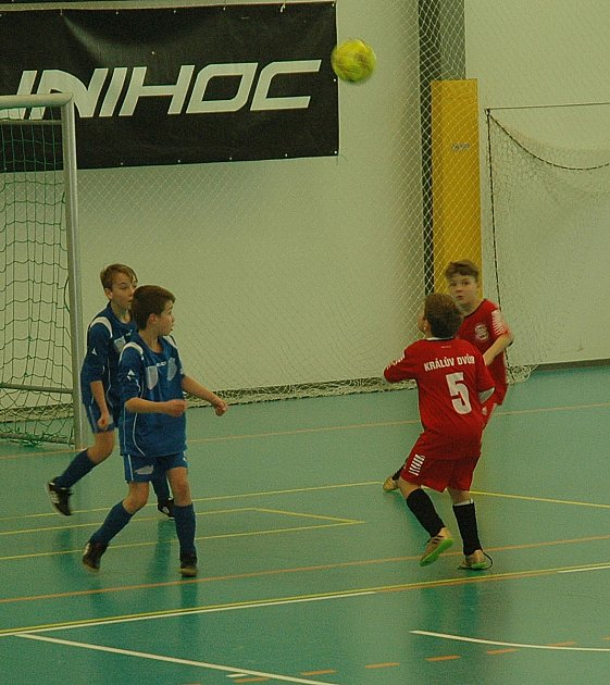 Turnaj starších přípravek vyhrálo Hořovicko.