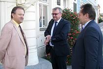 Beroun navštívil ministr dopravy Dan Ťok