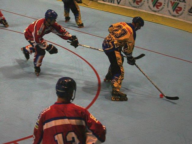 Ve španělském Bilbau se stali čeští inline hokejisté, v jejichž kádru byli i hráči Berounských Medvědů, mistry světa. - Ilustrační foto.