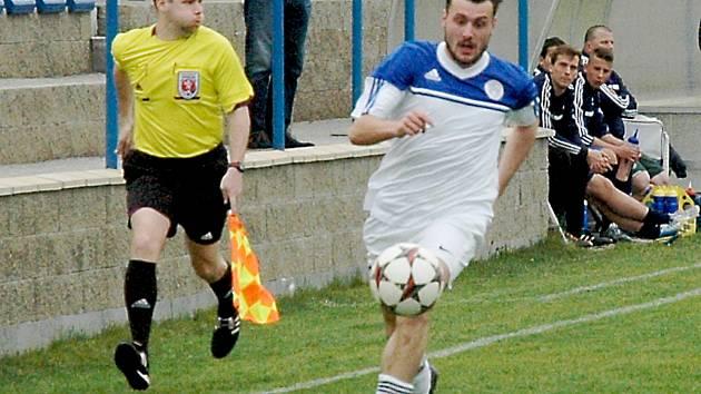 Vojtěch Zítek (Hořovicko) vstřelil v divizi na Doubravce gól, nastoupí ve středu za béčko?