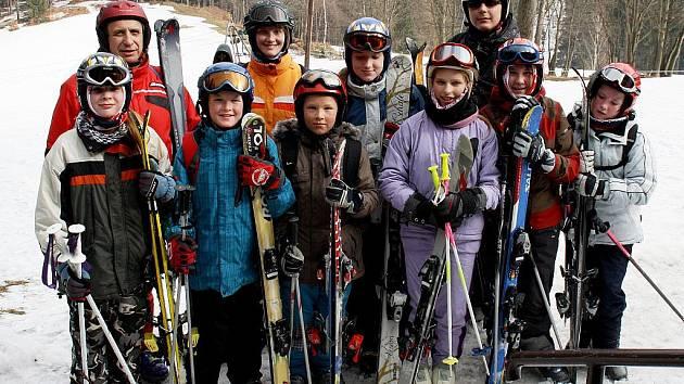 Berounští prožili jarní prázdniny na horách